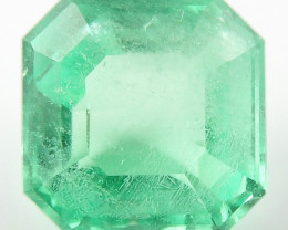 2.45 ct Natural Colombian Emerald Green Gem Loose Gemstone Stone