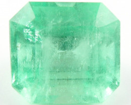 Certified 6.23ct Natural Colombian Emerald Green Gem Loose Gemstone Stone