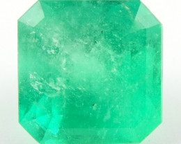 Certified 5.49ct Natural Colombian Emerald Green Gem Loose Gemstone Stone