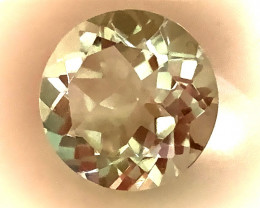 5.58ct Shimmering  Cut Green Amethyst  (Prasiolite) - NO RESERVE AUCTION