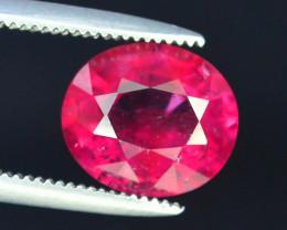 AAA Color 2.05 ct Rubelite Tourmaline~M
