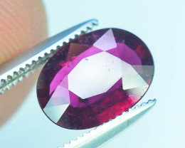 AAA Color 1.20 ct Rubelite Tourmaline~M