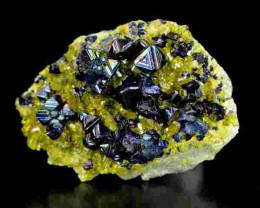 42 Cts Rainbow Magnetite+Epidote Specimen