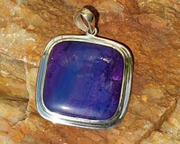 Sugilite Pendant - 925 Silver (RJ22)