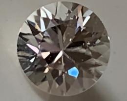 A Sparkling White Zircon gem - 6.00mm