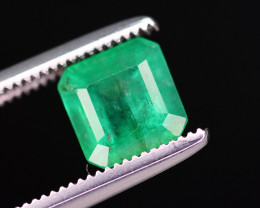 Top Quality 1.05  Ct Natural Zambian Emerald