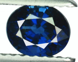 Natural Blue Sapphire Oval Oval Madagascar 0.91 Cts