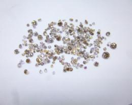 6.91ct Fancy Pink - Purple Diamond Parcel, 100% Natural Untreated