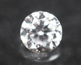 2.30mm D/E/F VVS Natural Round Brilliant Cut Diamond