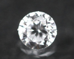 2.40mm D/E/F VVS Natural Round Brilliant Cut Diamond