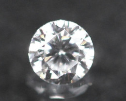 2.10mm D/E/F VVS Natural Round Brilliant Cut Diamond