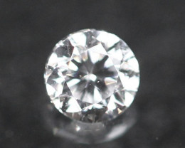 2.00mm D/E/F VVS Natural Round Brilliant Cut Diamond