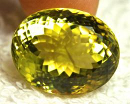 31.18 Carat African VS/SI  Lemon Quartz - Gorgeous