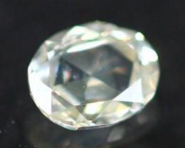 0.11Ct Untreated Fancy Intense Greenish Grey Color Diamond A2601