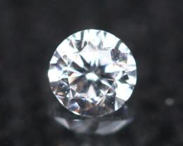 2.30mm D/E/F VVS Clarity Natural Brilliant Round Diamond