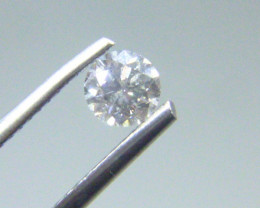 0.43cts  H-I1 Diamond  , 100% Natural Untreated
