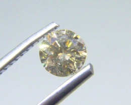 0.505cts  K-I1 Diamond , 100% Natural Untreated