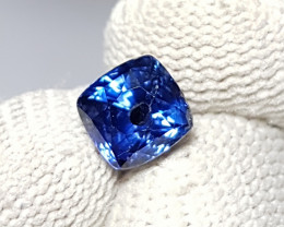 UNHEATED 2.15 CTS CERTIFIED NATURAL BEAUTIFUL ROYAL BLUE SAPPHIRE SRI LANKA