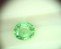 0.66cts Colombian   Emerald , 100% Natural Gemstone
