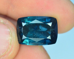 GGL Certified ~ 6.80 ct Natural bluish Color Indicolite Tourmaline