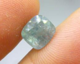 4.65ct Green  Ceylon Sapphire , 100% Natural Untreated Gemstone