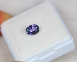 1.13ct Greenish Violet Blue Tanzanite Oval Cut Lot GW3422