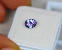 1.01ct Violet Blue Tanzanite Oval Cut Lot V3657