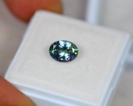 1.47Ct Greenish Blue Tanzanite Oval Cut Lot B534
