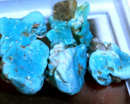 61.30 cts Sleeping beauty Turquoise rough parcel RG-3422