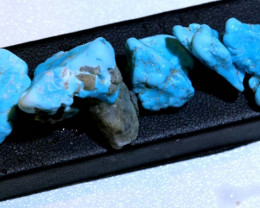 61.45cts Sleeping beauty Turquoise rough parcel RG-3424