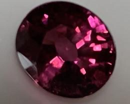 1.55ct Ruby Crimson Malaya Garnet - Oval cut VVS clarity No reserve