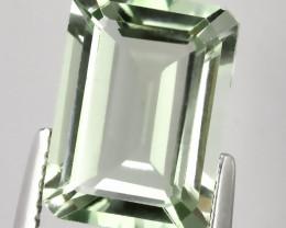7.00ct Shimmering  Cut Green Amethyst  (Prasiolite) - NO RESERVE AU