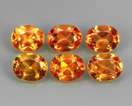 3.35  CTS EXCELLENT NATURAL RARE FANCY -YELLOWISH-ORANGE-MADAGASCAR SAPPHIR