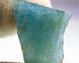69.80 CT Natural - Unheated Blue Aquamarine Rough