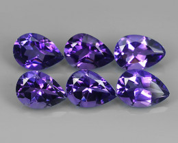 11.05 CTS NOBLE PEAR CUT PURPLE AMETHYST WONDERFUL!!!