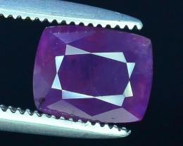Rarest 1.30 ct Pink Corundum Sapphire~Kashmir~S