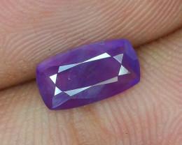 Rarest 1.10 ct Pink Corundum Sapphire~Kashmir~S