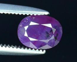 Rarest 0.95 ct Pink Corundum Sapphire~Kashmir~S
