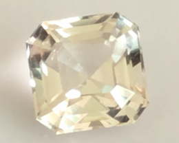 Glowing 5.55ct Asscher Cut Untreated Topaz - G468
