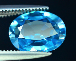 AAA Brilliance 2.60 ct Blue Zircon Cambodia