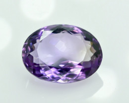 4.60 Crt Natural Amethyst Faceted Gemstone.( AG 21)