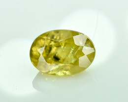 1.04 Crt Natural Malayaite Sphene Faceted Gemstone.( AG 21)