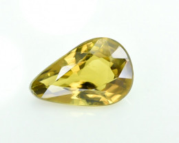 1.12 Crt Natural Chrysoberyl Faceted Gemstone.( AG 21)