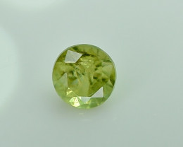 0.27 Crt Natural Demantoid Garnet Faceted Gemstone.( AG 21)