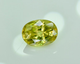 1.61 Crt Natural Sphene Faceted Gemstone.( AG 21)