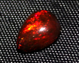 2.60 Crt Natural Ethiopian Welo Fire Smoked Opal Cabochon 126