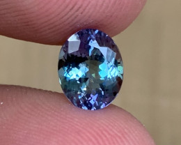 2.36 cts Certified Tanzanite - No Reserve - Investment Gemstone