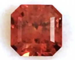 Custom Cut 2.37ct Intese Orange Zircon - Tanzania G409 H732