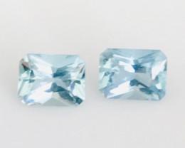 Luminous 1.75ct Aquamarine Earring Pair - G470