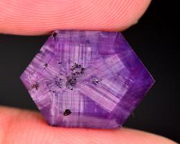 Rarest 14.40 Ct Corundum Sapphire Trapiche From Kashmir Valley. ARA